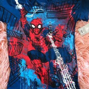 Boys Spider-Man shirt